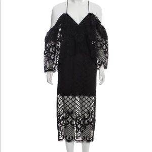 NWT Alice McCall Slip Evening Lace Black Dress 👗